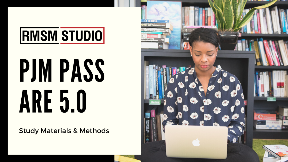 PjM Pass ARE 5.0 – Study Materials and Methods