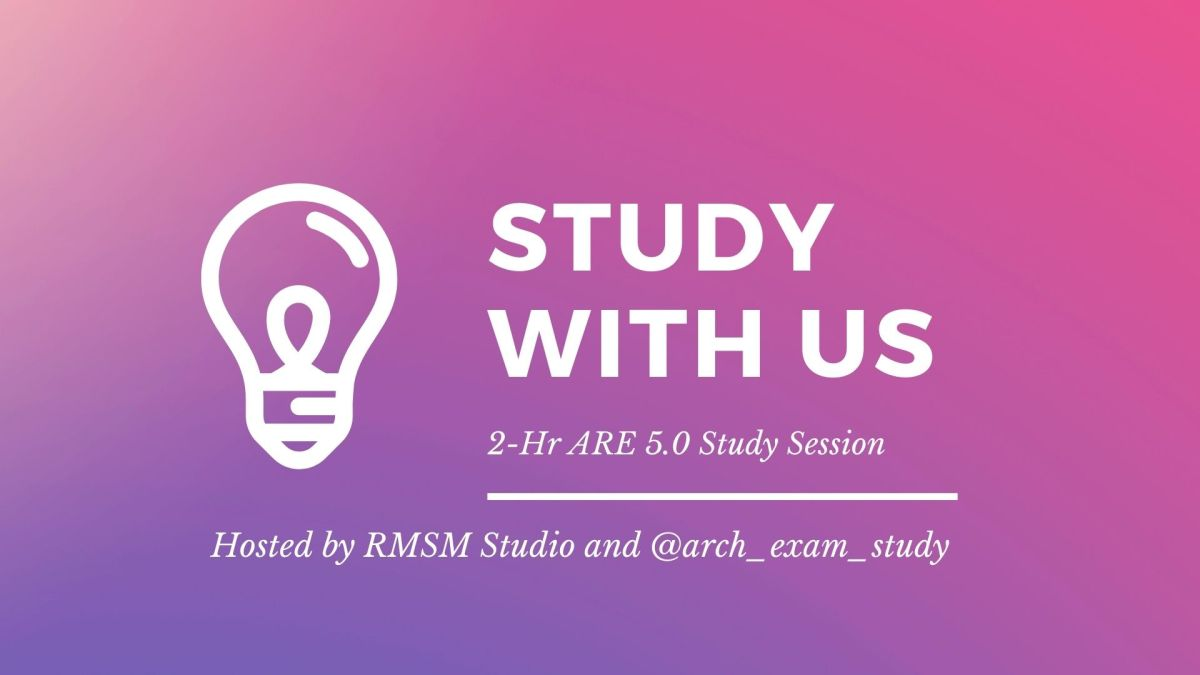 Study With Us: 2 Hour Study Session on Sept. 8th