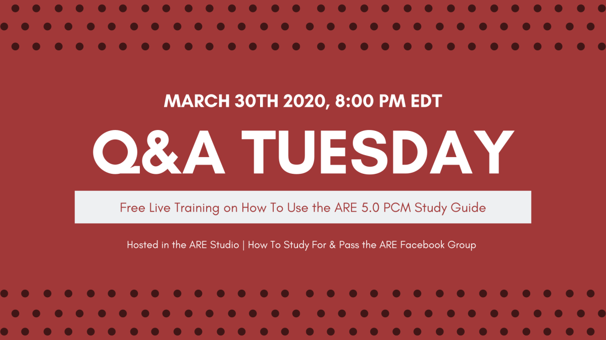 How to Use the PcM Study Guide: Live Event on Mar. 30